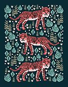Safari Tiger by Andrea Lauren  by Andrea Lauren