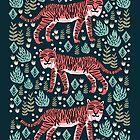 Safari Tiger by Andrea Lauren  by Andrea Lauren