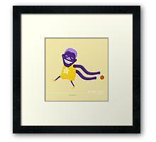 Magic Johnson's Magic Touch Framed Print