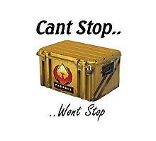 Cant Stop Wont Stop - CS:GO Crate  Photographic Print