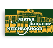 Mister Rodgers' Neighborhood Canvas Print