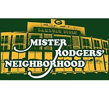 Mister Rodgers' Neighborhood Photographic Print