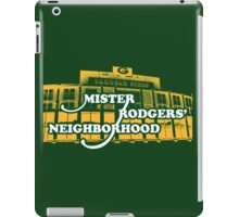 Mister Rodgers' Neighborhood iPad Case/Skin