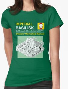 Owner's Manual (green) Womens Fitted T-Shirt