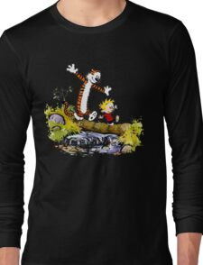 Calvin Hobbes Long Sleeve T-Shirt