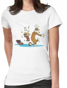 Dancing Together Womens Fitted T-Shirt