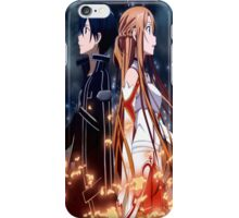Asuna and Kirito iPhone Case/Skin