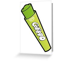 Lime Calippo Greeting Card