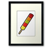Fruit Pastille Framed Print