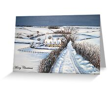 Christmas in the Cotswolds Greeting Card