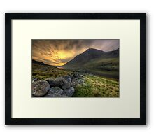 Tryfan By Morning Framed Print