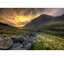 Tryfan By Morning Photographic Print