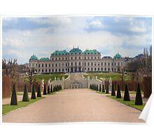 Oberes Belvedere, Vienna Austria Poster