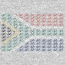 Bike Flag South Africa (Small) by sher00