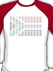 Bike Flag South Africa (Small) T-Shirt