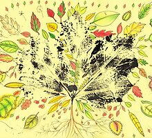 Autumn Inspired Leaves by Troglodyte