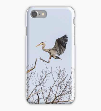 Great Blue Heron 2014-4 iPhone Case/Skin
