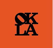 OKLA (Black & Orange)-small by okjane