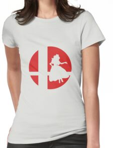 Peach - Super Smash Bros. Womens Fitted T-Shirt