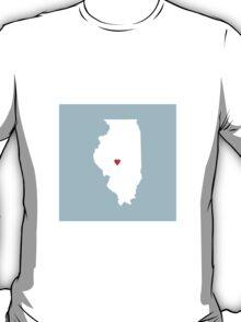 Illinois Love T-Shirt