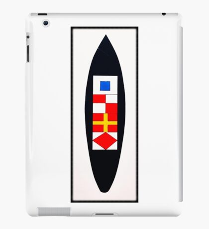Nautic Surfboard iPad Case/Skin