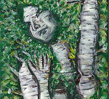 Birch Goddess by Brent Fennell