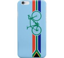 Bike Stripes South Africa iPhone Case/Skin