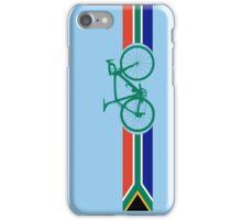 Bike Stripes South Africa iPhone Case/Skin