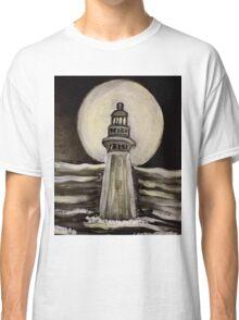 Moonlit Lighthouse Classic T-Shirt