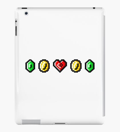 Classic Video Game Icons iPad Case/Skin