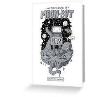Moonbot Greeting Card