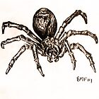 Scary spider by Oruala