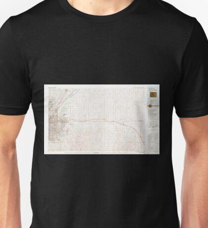 USGS TOPO Map Colorado CO Denver East 403027 1981 100000 Unisex T-Shirt