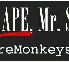 I'm No Ape, Mr. Scopes! Sticker