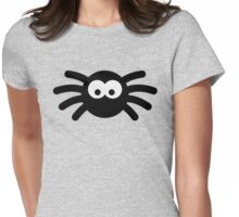 Little black spider Womens Fitted T-Shirt