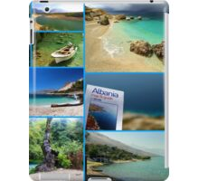 Collage/Postcard from Albania 3 - Travel Photography iPad Case/Skin