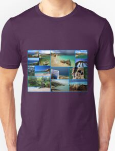 Collage/Postcard from Albania 3 - Travel Photography T-Shirt