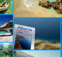 Collage/Postcard from Albania 3 - Travel Photography Sticker