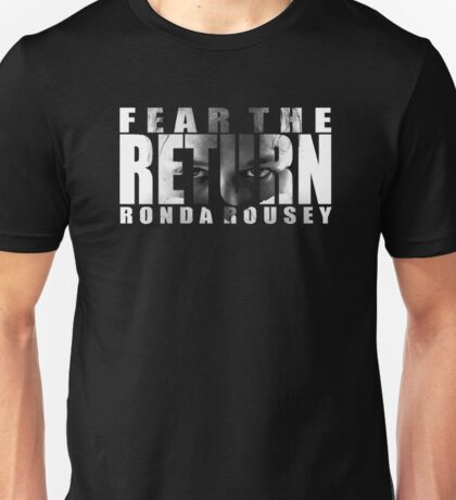 Ronda Rousey UFC207 Unisex T-Shirt