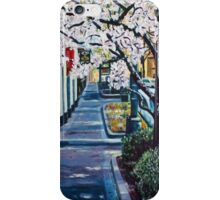 'UPTOWN CHARLOTTE, TRYON ST.'  iPhone Case/Skin