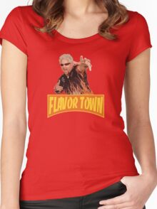 Guy Fieri - Flavor Town Women's Fitted Scoop T-Shirt