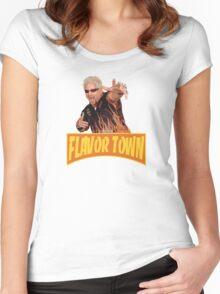 Guy Fieri - Flavor Town Women's Fitted Scoop T-Shirt