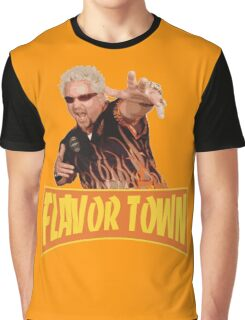 Guy Fieri - Flavor Town Graphic T-Shirt
