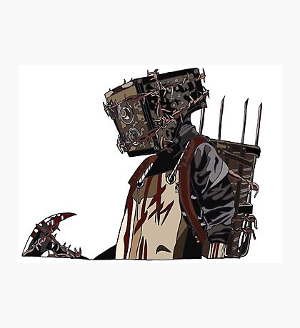 The Keeper - The Evil Within Photographic Print