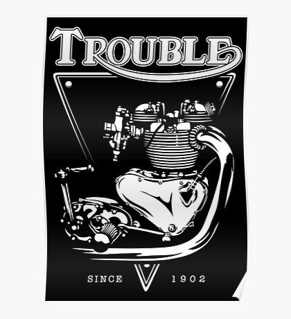 Trouble Engine Poster