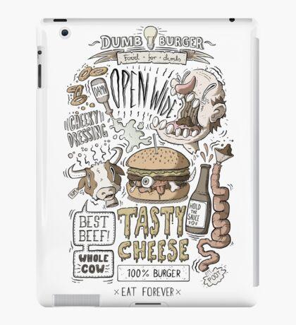 Dumb burger iPad Case/Skin
