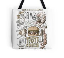 Dumb burger Tote Bag
