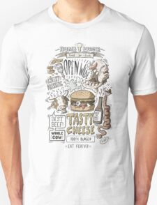 Dumb burger Unisex T-Shirt