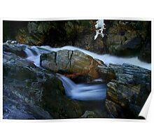 The Colors of Livermore Gorge, Plymouth, NH Poster