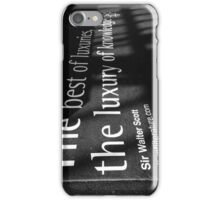 The best of luxuries iPhone Case/Skin